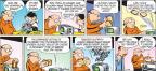 Cartoonist John Hambrock  The Brilliant Mind of Edison Lee 2012-06-24 toast