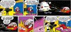 Cartoonist John Hambrock  The Brilliant Mind of Edison Lee 2013-05-12 against