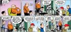 Cartoonist John Hambrock  The Brilliant Mind of Edison Lee 2014-02-02 street