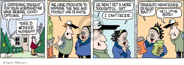 Comic Strip Signe Wilkinson  Family Tree 2008-12-16 product
