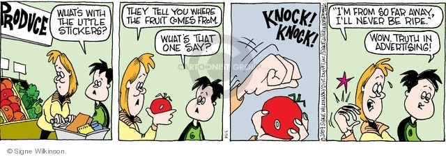 Cartoonist Signe Wilkinson  Family Tree 2009-01-14 parent