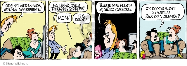 Comic Strip Signe Wilkinson  Family Tree 2009-01-29 mom