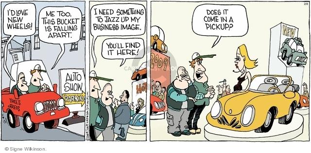 Comic Strip Signe Wilkinson  Family Tree 2009-02-08 image