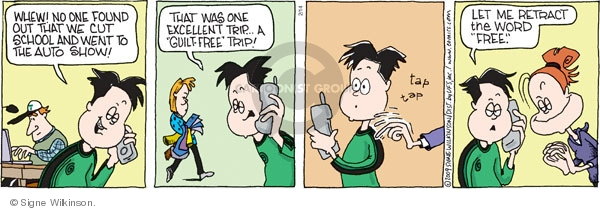 Comic Strip Signe Wilkinson  Family Tree 2009-02-14 teen