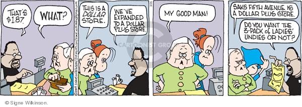 Comic Strip Signe Wilkinson  Family Tree 2009-03-26 retail