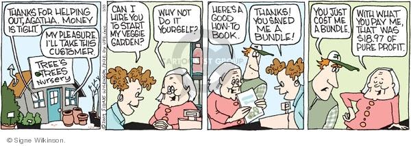Comic Strip Signe Wilkinson  Family Tree 2009-03-30 yourself