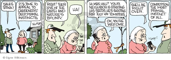 Comic Strip Signe Wilkinson  Family Tree 2009-04-01 family business