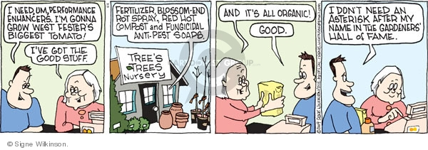 Comic Strip Signe Wilkinson  Family Tree 2009-04-04 supply