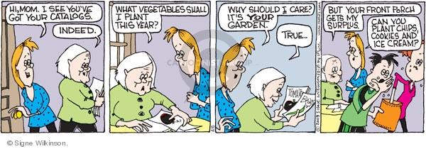 Comic Strip Signe Wilkinson  Family Tree 2009-04-06 true