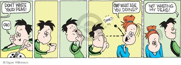Comic Strip Signe Wilkinson  Family Tree 2009-04-09 child