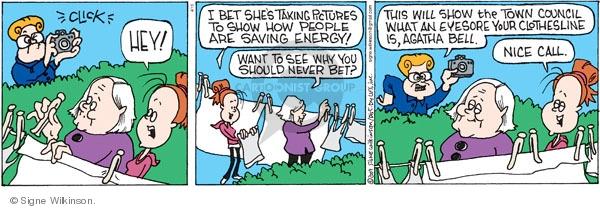 Comic Strip Signe Wilkinson  Family Tree 2009-04-15 family