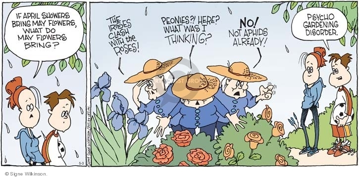 Comic Strip Signe Wilkinson  Family Tree 2009-05-03 aphid