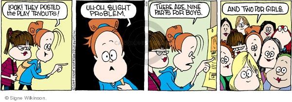 Comic Strip Signe Wilkinson  Family Tree 2009-04-28 drama