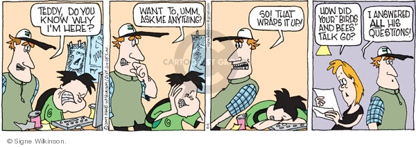 Comic Strip Signe Wilkinson  Family Tree 2009-06-04 ask