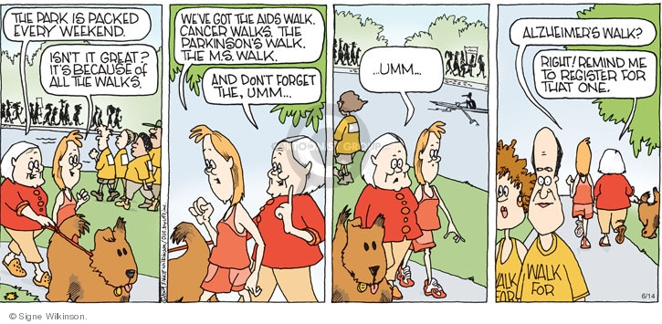 Comic Strip Signe Wilkinson  Family Tree 2009-06-14 forget