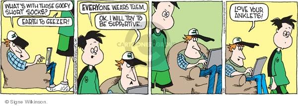 Comic Strip Signe Wilkinson  Family Tree 2009-06-20 geezer