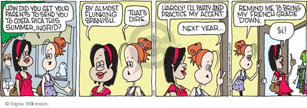Comic Strip Signe Wilkinson  Family Tree 2009-06-26 teen