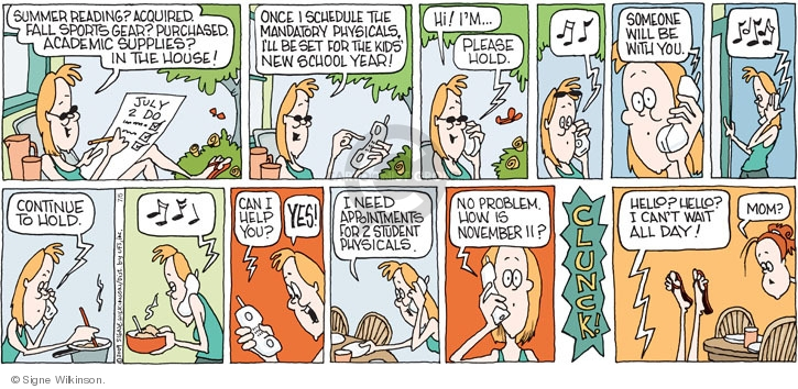 Comic Strip Signe Wilkinson  Family Tree 2009-07-05 read