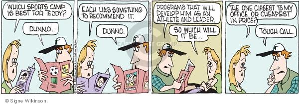 Comic Strip Signe Wilkinson  Family Tree 2009-07-02 program