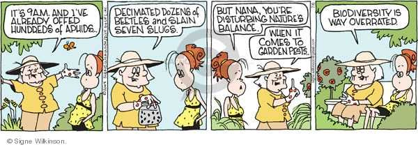 Comic Strip Signe Wilkinson  Family Tree 2009-07-06 aphid