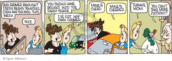 Comic Strip Signe Wilkinson  Family Tree 2009-07-13 fresh