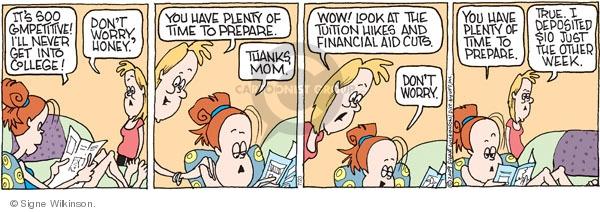Comic Strip Signe Wilkinson  Family Tree 2009-07-23 expense