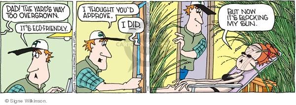 Cartoonist Signe Wilkinson  Family Tree 2009-07-30 dad