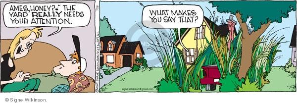 Comic Strip Signe Wilkinson  Family Tree 2009-07-28 honey