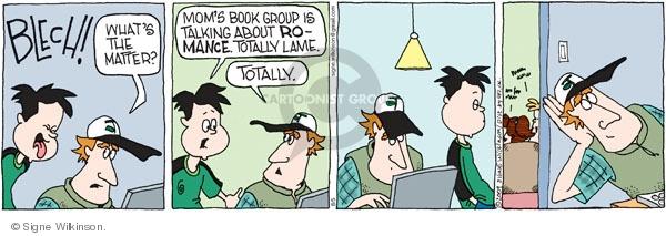 Comic Strip Signe Wilkinson  Family Tree 2009-08-05 novel