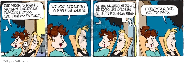Comic Strip Signe Wilkinson  Family Tree 2009-08-07 follow