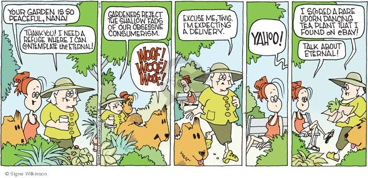 Comic Strip Signe Wilkinson  Family Tree 2009-08-16 WWW