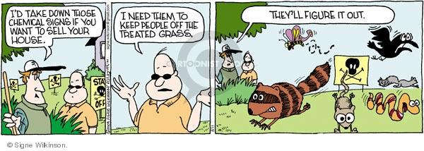 Comic Strip Signe Wilkinson  Family Tree 2009-08-11 wildlife