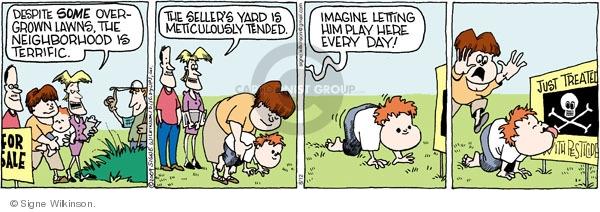 Comic Strip Signe Wilkinson  Family Tree 2009-08-12 child