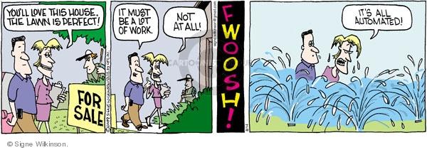 Comic Strip Signe Wilkinson  Family Tree 2009-08-14 house