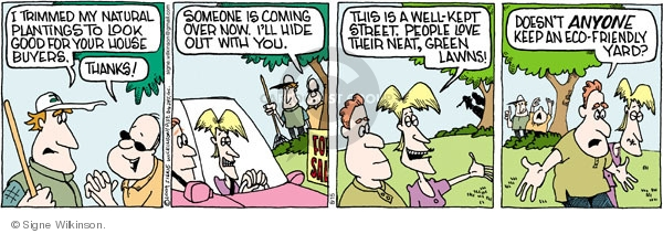 Comic Strip Signe Wilkinson  Family Tree 2009-08-15 green