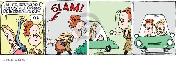 Comic Strip Signe Wilkinson  Family Tree 2009-09-08 child safety