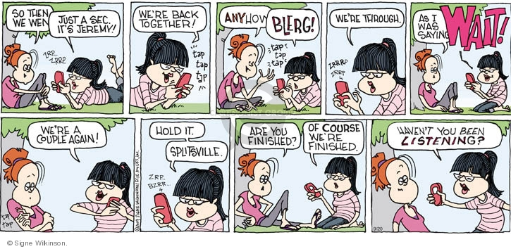 Comic Strip Signe Wilkinson  Family Tree 2009-09-20 relationship