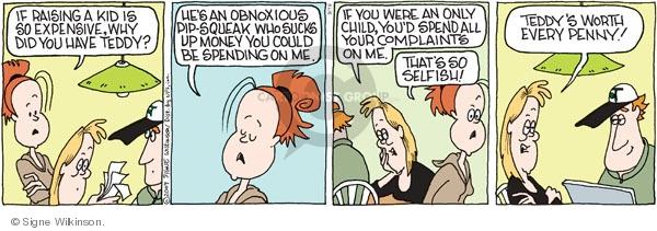 Comic Strip Signe Wilkinson  Family Tree 2009-09-19 expense