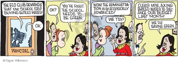 Comic Strip Signe Wilkinson  Family Tree 2009-09-26 green