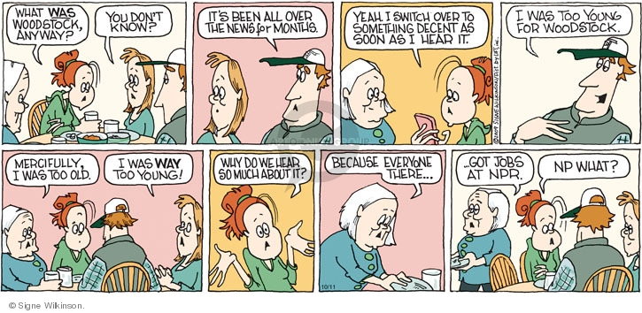 Comic Strip Signe Wilkinson  Family Tree 2009-10-11 music