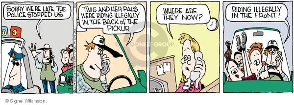 Comic Strip Signe Wilkinson  Family Tree 2009-10-23 mom
