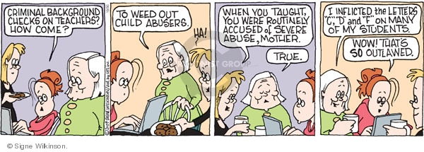 Comic Strip Signe Wilkinson  Family Tree 2009-10-30 child
