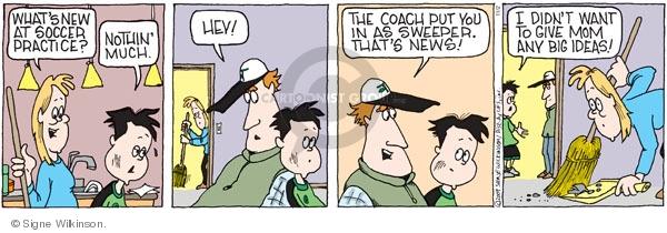 Comic Strip Signe Wilkinson  Family Tree 2009-11-02 hey