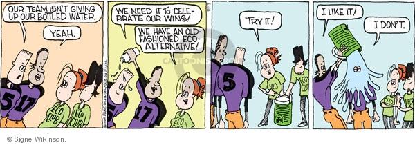 Comic Strip Signe Wilkinson  Family Tree 2009-11-13 team