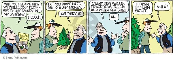 Comic Strip Signe Wilkinson  Family Tree 2009-11-17 hide
