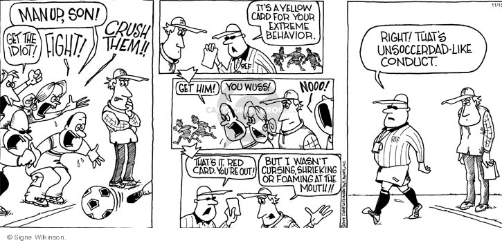 Cartoonist Signe Wilkinson  Family Tree 2009-11-15 game