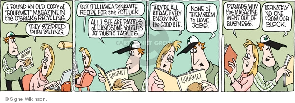 Comic Strip Signe Wilkinson  Family Tree 2010-01-29 recycle