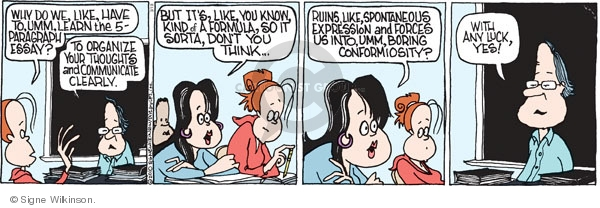 Comic Strip Signe Wilkinson  Family Tree 2010-03-19 high school teacher