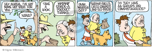 Comic Strip Signe Wilkinson  Family Tree 2010-04-13 hey