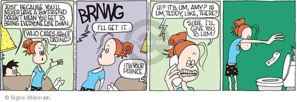 Cartoonist Signe Wilkinson  Family Tree 2010-05-06 phone call